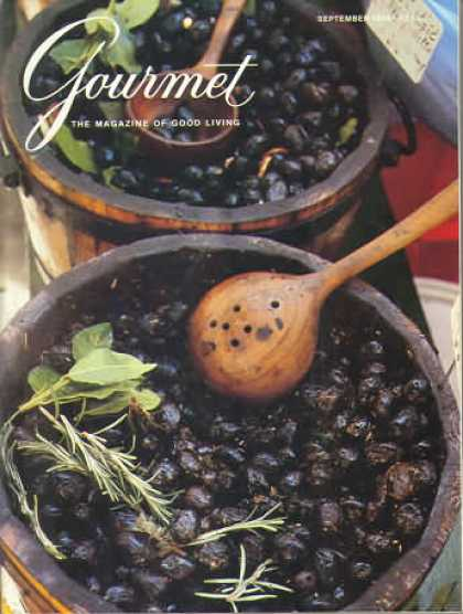 Gourmet - September 1986
