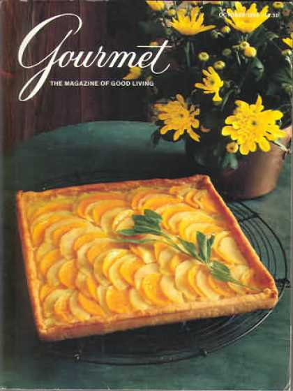 Gourmet - October 1986