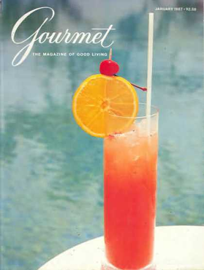 Gourmet - January 1987