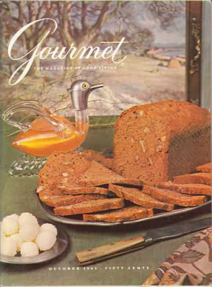 Gourmet - October 1962