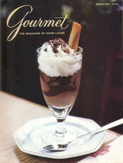 Gourmet - March 1987