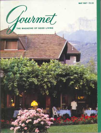 Gourmet - May 1987