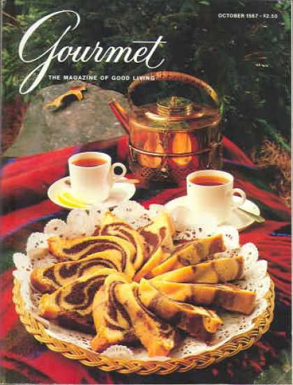 Gourmet - October 1987