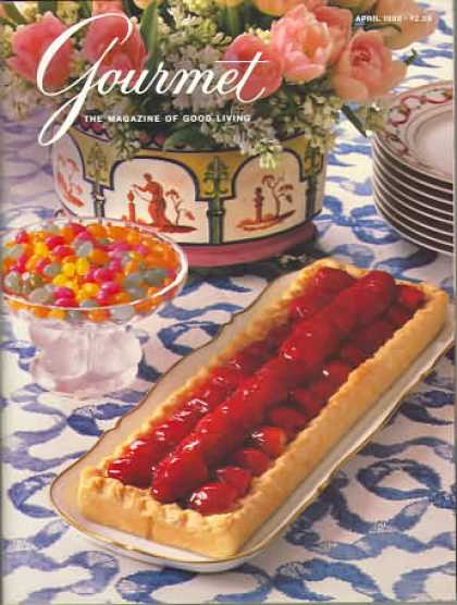 Gourmet - April 1988