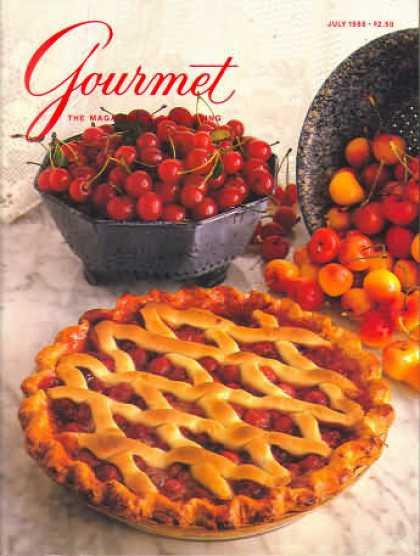 Gourmet - July 1988