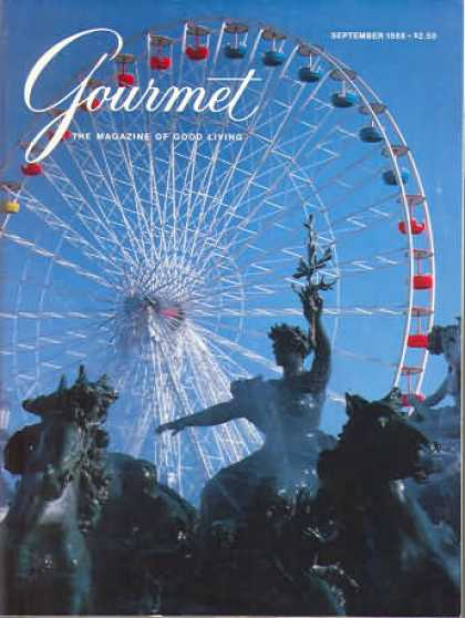 Gourmet - September 1988
