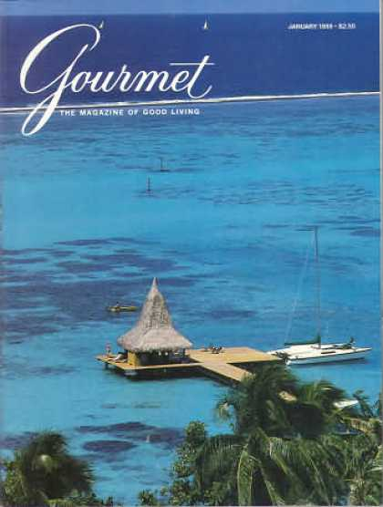 Gourmet - January 1989
