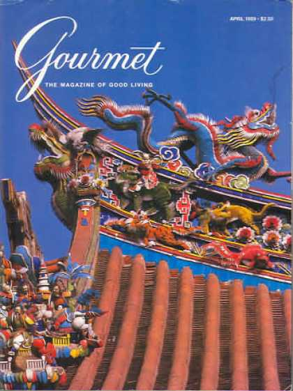 Gourmet - April 1989