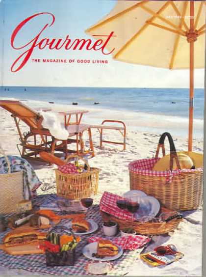 Gourmet - July 1989