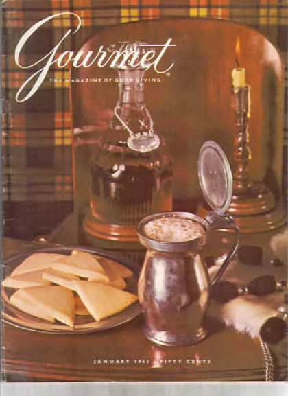 Gourmet - January 1963