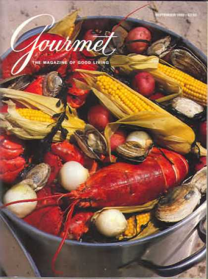 Gourmet - September 1989