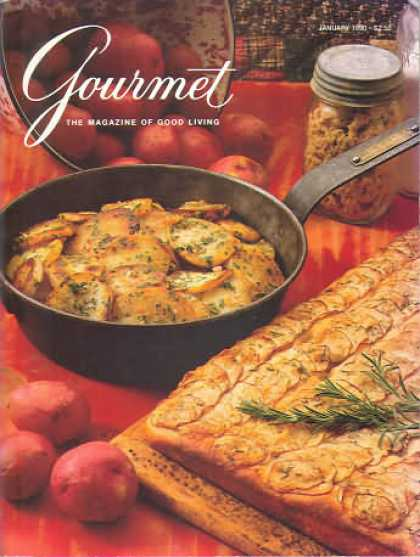 Gourmet - January 1990