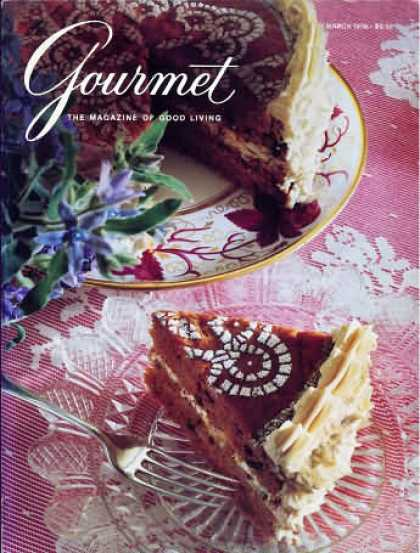 Gourmet - March 1990