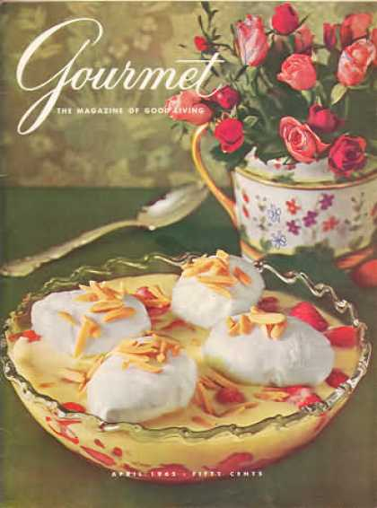 Gourmet - April 1965