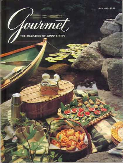 Gourmet - July 1990