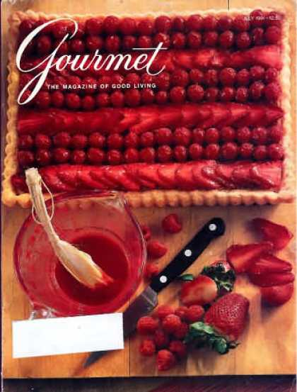 Gourmet - July 1991