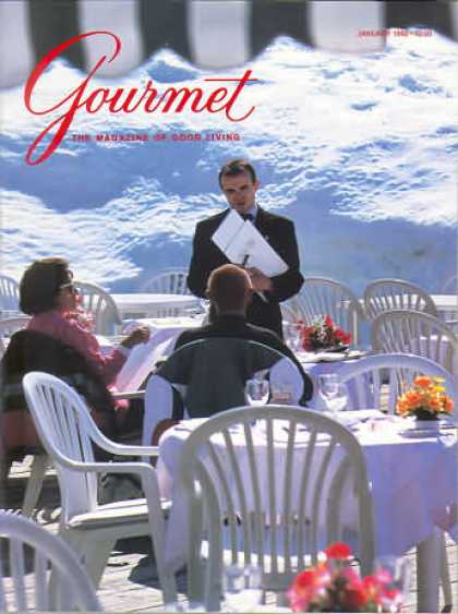 Gourmet - January 1992