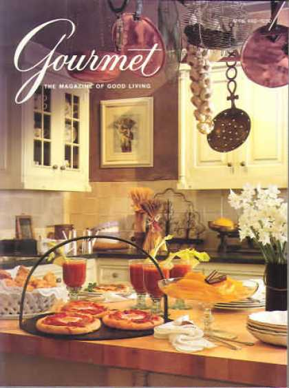 Gourmet - April 1992