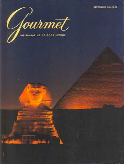 Gourmet - September 1992