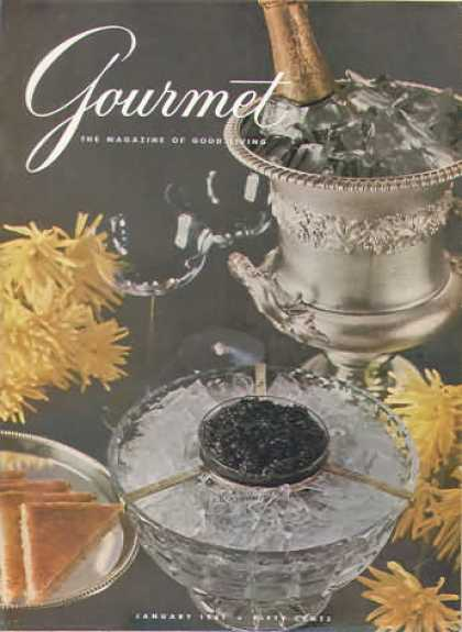 Gourmet - January 1961