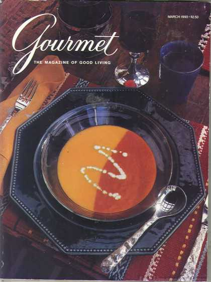 Gourmet - March 1993