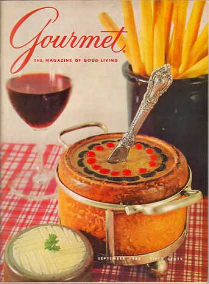 Gourmet - September 1965