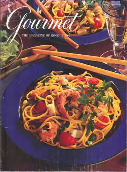 Gourmet - March 1995