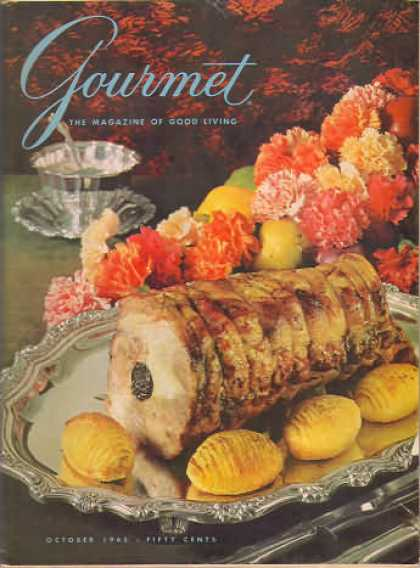 Gourmet - October 1965