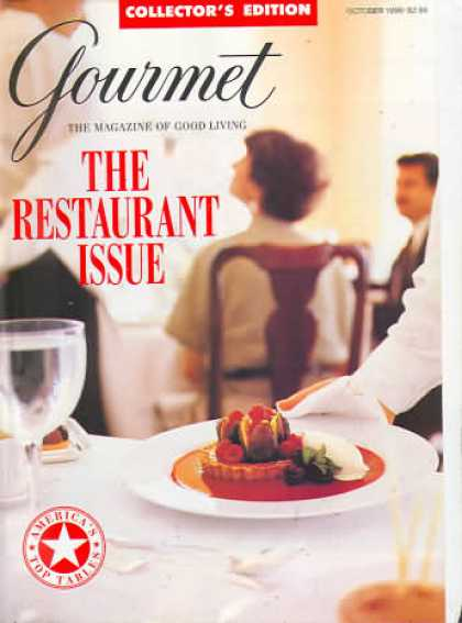 Gourmet - October 1996