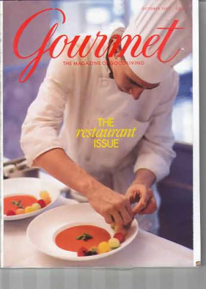 Gourmet - October 2001