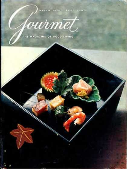 Gourmet - March 1970
