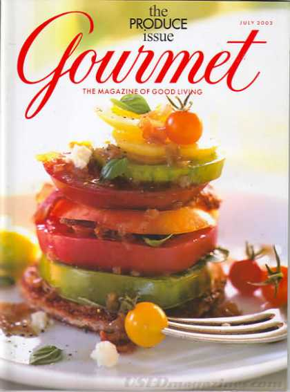 Gourmet - July 2003