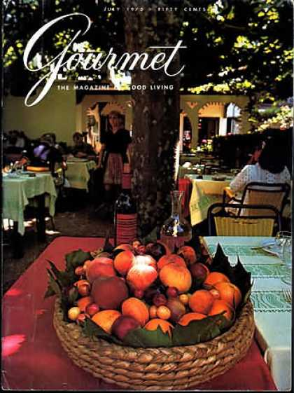 Gourmet - July 1970