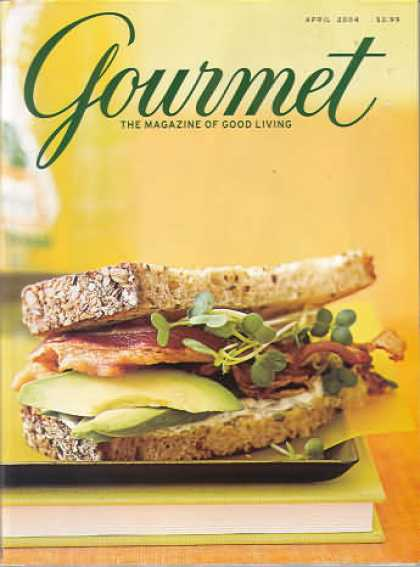 Gourmet - April 2004