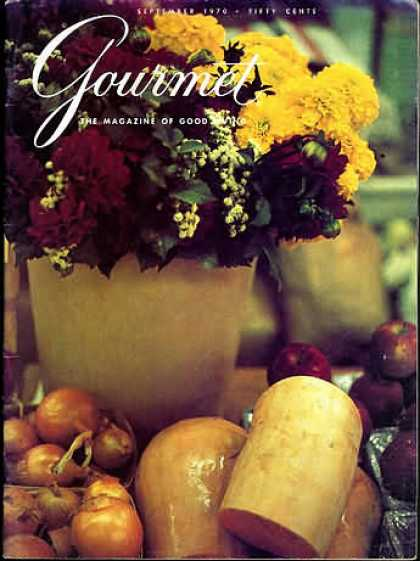 Gourmet - September 1970