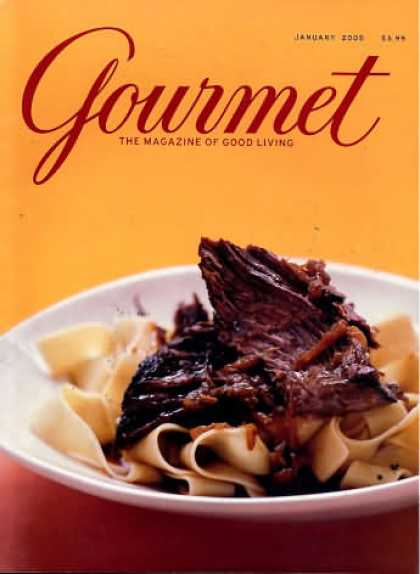 Gourmet - January 2005