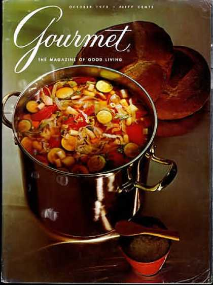 Gourmet - October 1970