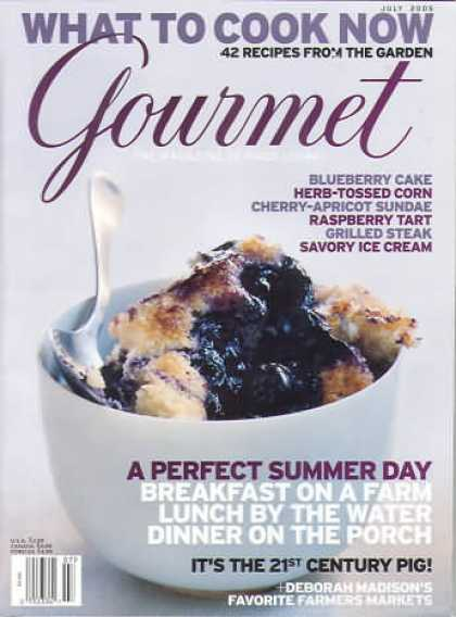 Gourmet - July 2005