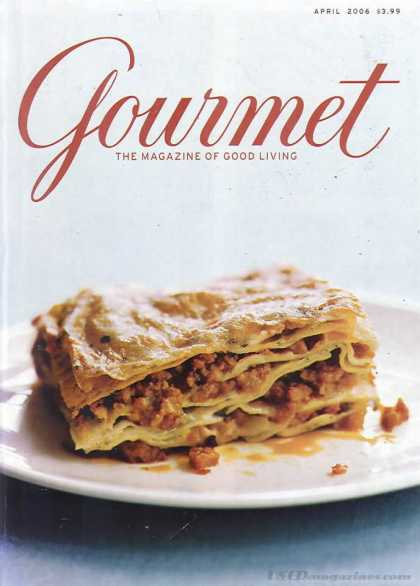 Gourmet - April 2006