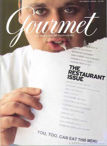 Gourmet - October 2006