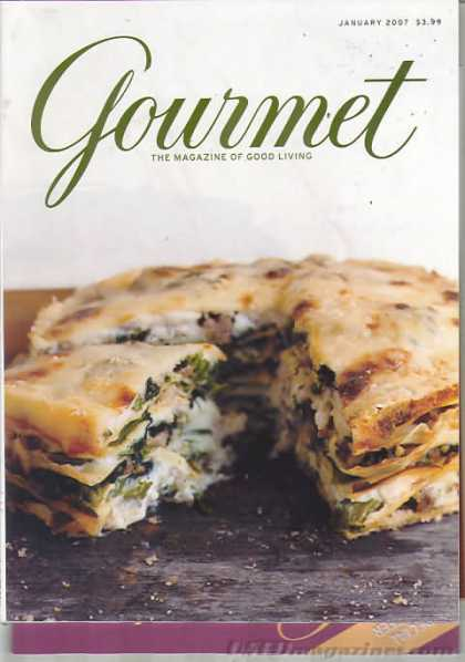 Gourmet - January 2007