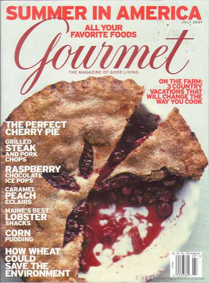 Gourmet - July 2007