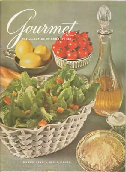 Gourmet - March 1961