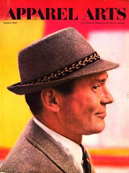 GQ - January 1957 - Hat