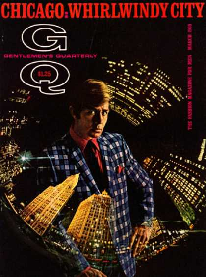 GQ - March 1969 - Chicago