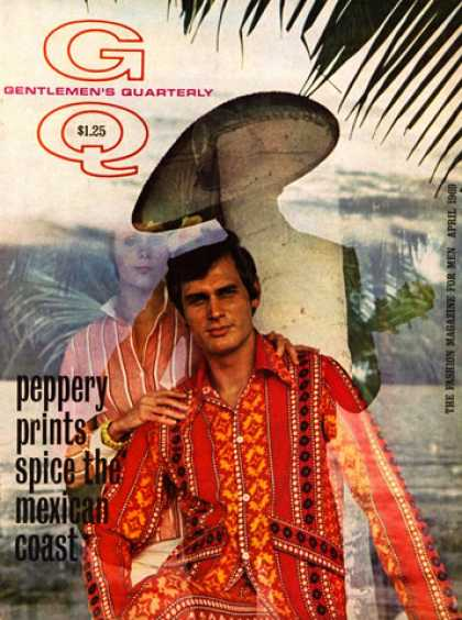 GQ - April 1969 - Mexico