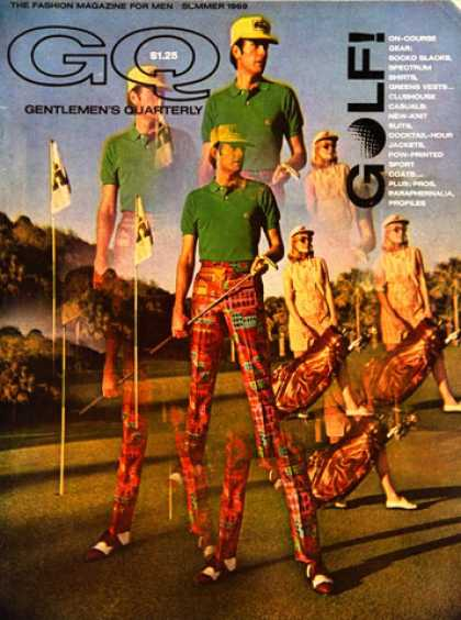 GQ - Summer 1969 - Golf