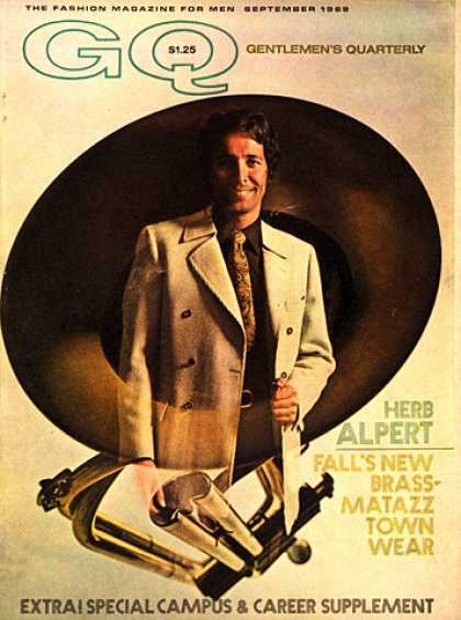GQ - September 1969 - Herb Alpert