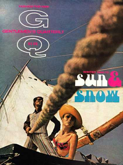 GQ - Winter 1969-70 - Sun & Snow