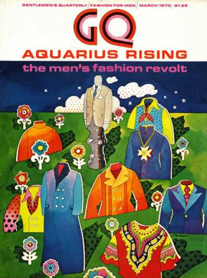 GQ - March 1970 - Aquarius Rising